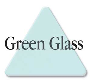 acrylic letter color #3030 Green Glass