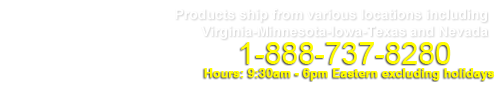 Products ship from various locations including Virginia-Minnesota-Iowa-Texas and Nevada