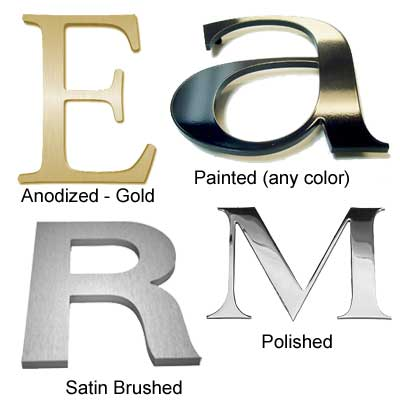 Where Can I Buy Metal Letters Metal Letters To Buy Directly Online From Sign Letter Source