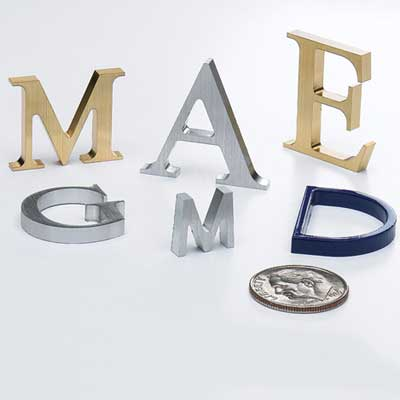 small metal letters metal letters to buy directly from sign letter source 24901