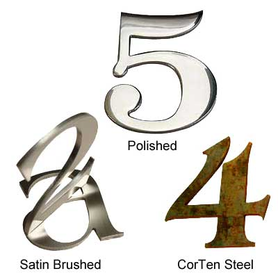 Stainless Steel Metal Letters