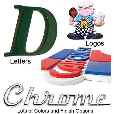 vacuum formed plastic letters