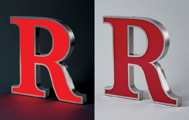 Fabricated Face Lighted channel sign letters