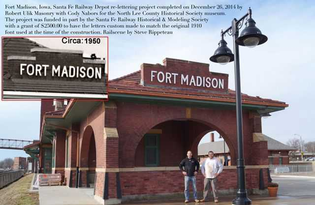 Fort Madison Historical Society Restoration Project