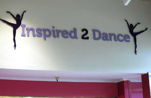 Inspired 2 Dance - Troy Tapia Signs